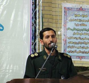 فرمانده ناحیه مقاومت سپاه انار:ماموریت بسیج مسجد محوری است