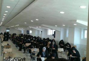 هفتمین دوره مسابقه بزرگ حفظ قرآن سوره نور در دانشگاه آزاد انار برگزار شد
