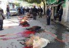 نظارت بهداشتی بر دامهای قربانی در روزهای تاسوعا و عاشورای حسینی  توسط شبکه دامپزشکی شهرستان انار