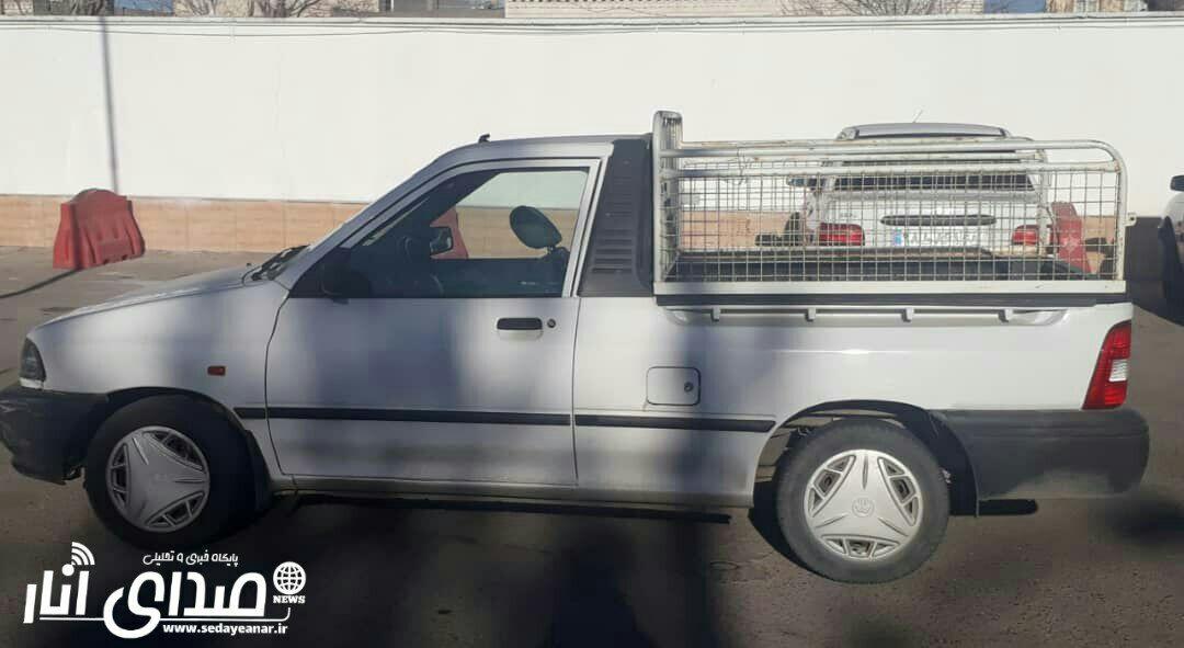 کشف خودروی سرقت شده از یزد در انار