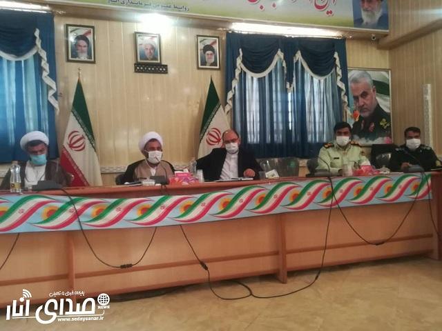مدیران شهرستانهای رفسنجان و انار باید جهادی حرکت کنند