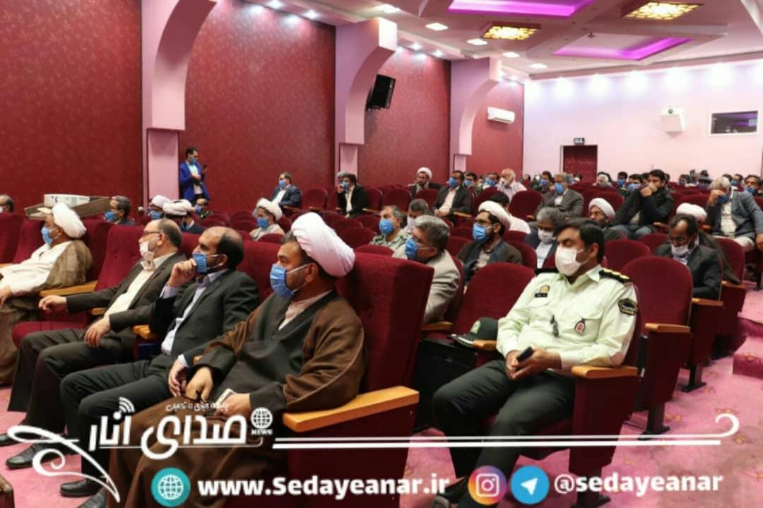 تصاویر مراسم تکریم و معارفه فرمانده جدید سپاه شهرستان انار