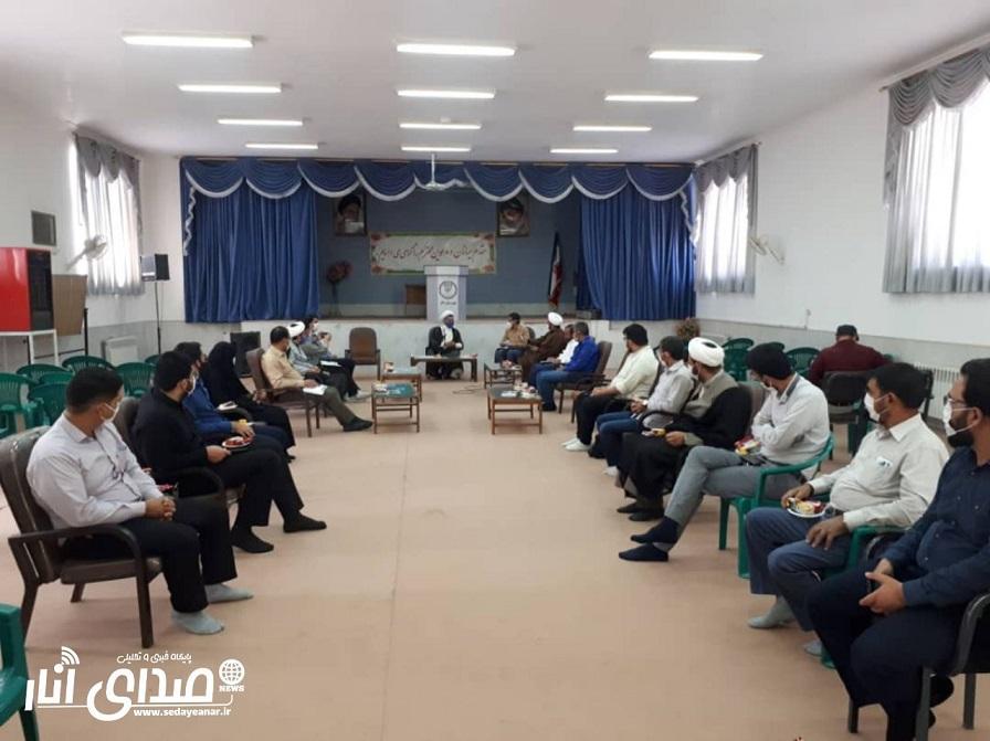 نشست مدیران رسانه ای و فضاهای مجازی شهرستان انار برگزار شد