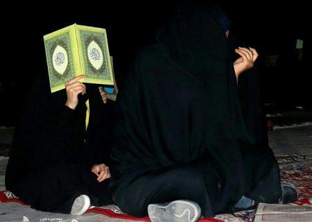 تصاویری از مراسم احیاء شب بیست و سوم ماه مبارک رمضان در صحن امامزاده محمدصالح (ع) انار
