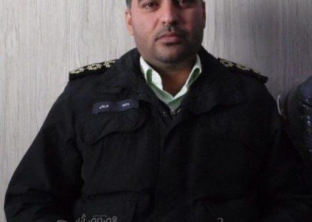 ستوانیکم وحیدعربیان بهعنوان سرپرست جدید پلیس آگاهی شهرستان انار معرفی شد