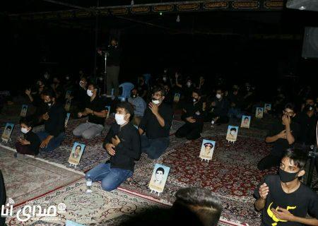 گزارش تصویری از مراسم شب هفتم محرم ۹۹  هیئت علمدار شهرستان انار