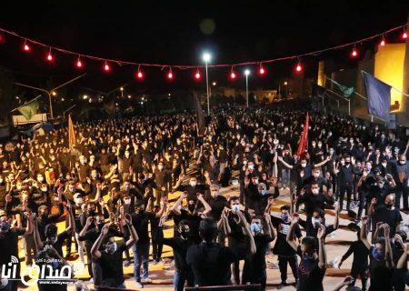 گزارش تصویری از مراسم عزاداری شب عاشورا محرم ۹۹ هیئت عاشقان کربلا شهر انار