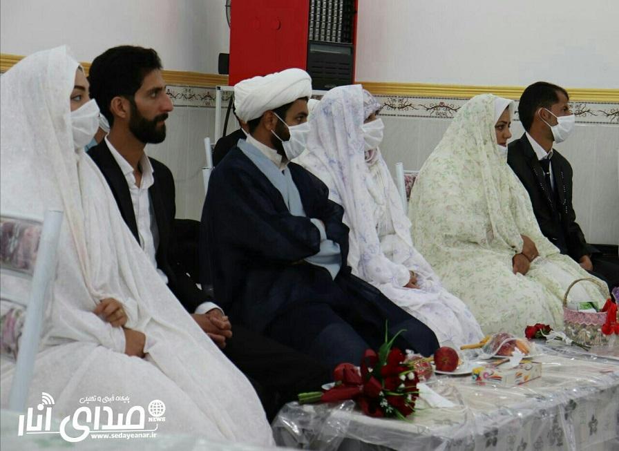 جشن ازدواج آسان ۶ زوج اناری+تصاویر