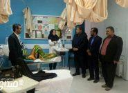 گزارش تصویری بازدید مدیر کل بیمه سلامت استان کرمان  از بخشهای مختلف بیمارستان حضرت ولیعصر (عج) و درمانگاه بیاض