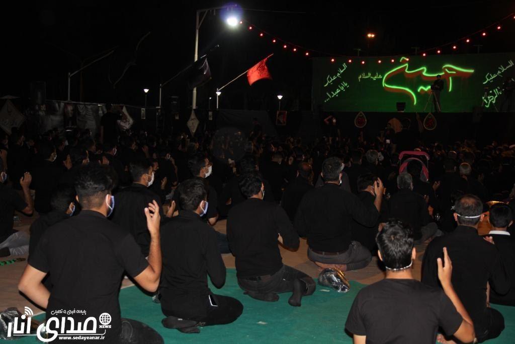 گزارش تصویری از مراسم شب هفتم محرم ۹۹ هیئت عاشقان کربلای شهرستان انار