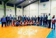 ️تیم یادبود انارکی محمدی قهرمان مسابقات فوتسال دهه مبارک فجر انار