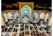 تصاویری از مراسم احیاء شب بیست و یکم ماه مبارک رمضان در انار
