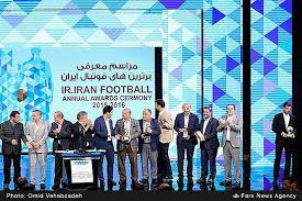 مراسم معرفی برترین های فوتبال ایران