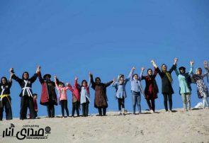 همایش ریگ نوردی بانوان شهرستان انار برگزار شد +تصاویر