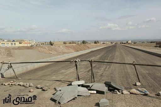 توضیحات شهردار انار در خصوص مسدود شدن کوچه شبستان۱۵در صدرآباد+عکس