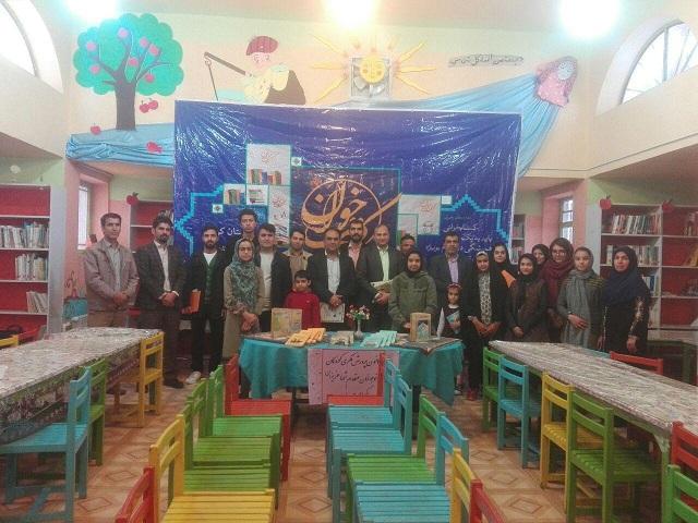 نشست کتابخوان در انار برگزار شد+تصاویر
