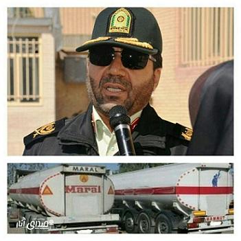 کشف محموله بزرگ ۵۶ هزار لیتری گازوئیل قاچاق درشهرستان انار