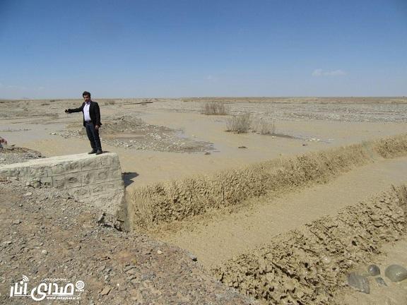 نقش پروژه پخش سیلاب بیاض در کاهش خطر سیل