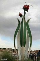 رونمایی از المان میدان شهدا ۱۸ آذر در انار