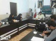 نشست خبری فرمانده انتظامی انار با اصحاب رسانه شهرستان