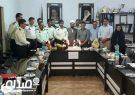 گزارش تصویری نشست خبری فرماندهی انتظامی انار با اصحاب رسانه شهرستان به مناسبت روز خبرنگار