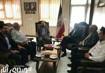 جلسه هماهنگی جشنواره پسته اکبری انار با حضور نماینده