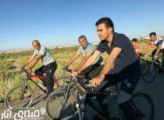 همایش دوچرخه سواری با حضور انارکی محمدی نماینده