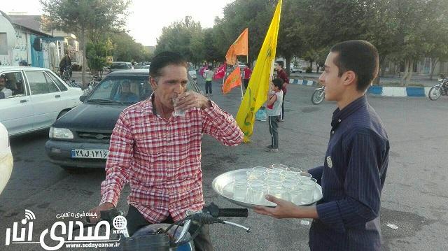 دهمین اجرای برنامه «هفته های انتظار» در میدان ولیعصر(عج) انار