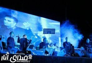 شبی خاطره انگیز در کنار ارگ ساسانی با خوانندگی محمدعلی ناجی