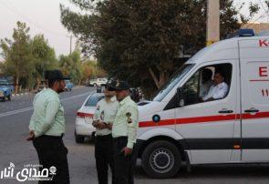برخورد پلیس با مخلان نظم و امنیت مراسم تاسوعای حسینی