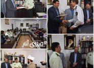 تقدیر فرماندار انار از کارکنان انتظامی بمناسبت هفته ناجا