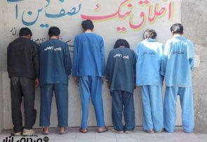 دستگیری ۶سارق و مالخر در انار