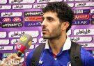 گزارش اختصاصی منصور زارع خبرنگار ورزشی  صدای انار در لیگ برتر فوتبال از بازی سپاهان و گل گهر سیرجان