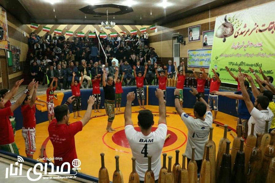 نخستین دوره مسابقات مرشدی قهرمانی استان درانار برگزار شد+تصاویر