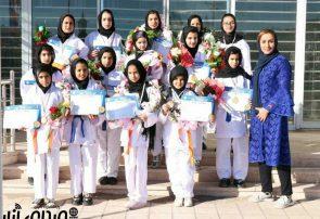 کسب ۷ مدال رنگارنگ توسط باشگاه کاراته بانوان شهرداری اناردر مسابقات بینالمللی کاراته جام فجر
